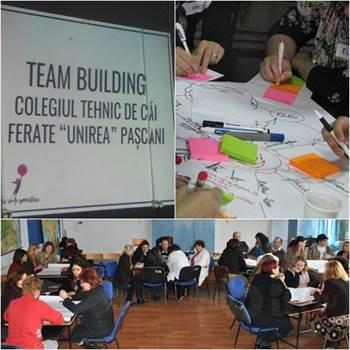team building la cf unirea psc