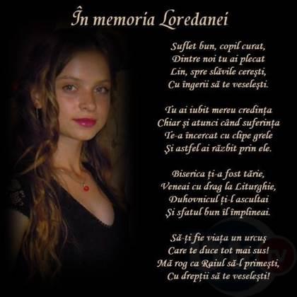 poezie loredana