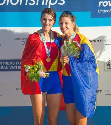 Petrila Mihaela si Beres Madalina, campioane mondiale de tinert in pairor