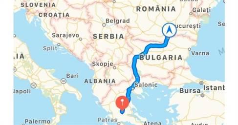 Cum Ajungi Cel Mai Repede In Grecia Cu Mașina Harta Traseului